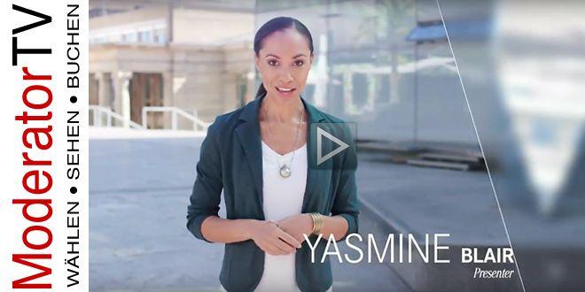Showreel von Yasmine Blair  Moderatorenpool